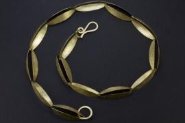 Maier en Beck geelgouden collier