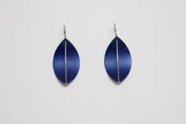 Apero Segel oorbellen (marineblauw)