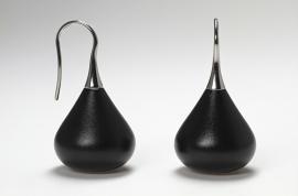 Apero Madonna oorbellen ( zwart )