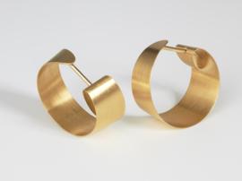 Oliver Schmidt oorbellen, oval band ( klein )