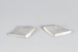 Chauvent zilveren oorbellen ( clips + stekers )
