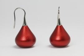 Apero Madonna oorbellen (rood)