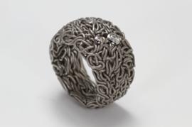 Schmuck werk stalen ring ( medusa )