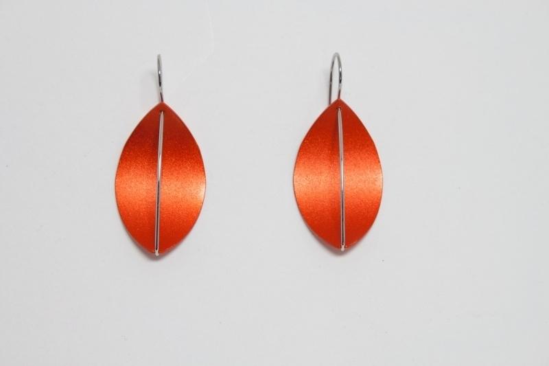 Apero Segel oorbellen (oranje)