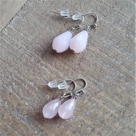 Crystal Pink Drops 16 mm  [8221]