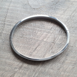 Bangle Zilver Ankertje RVS  [1178]