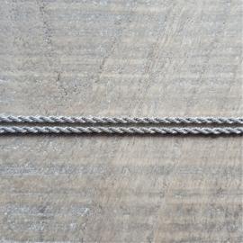Ketting Rvs Gedraaid 2 mm  [2483]