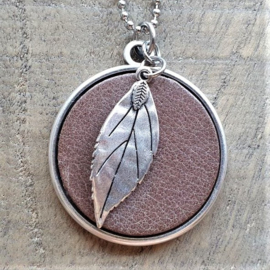 Ketting Bruin Beautiful Leaf  [2993]