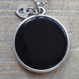 Ketting/Bedel XXL Shiny Black  [2727]