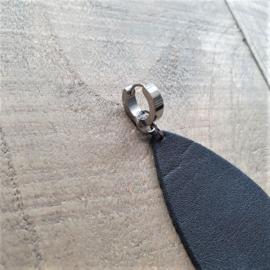 Roestvrijstalen Creolen 13 mm  [8466]