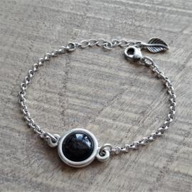 Armband Shiny Black  [1764]