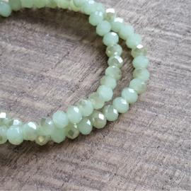 Green Diamond Facets  [1012]