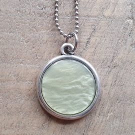 Ketting/Bedel Shiny Green  [7041]