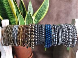 Hematite, heerlijke combineer armbanden
