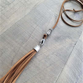 Clip On Ketting Special Cognac  [7073]