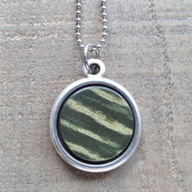 Ketting/Bedel Striped Armygreen  [7016]