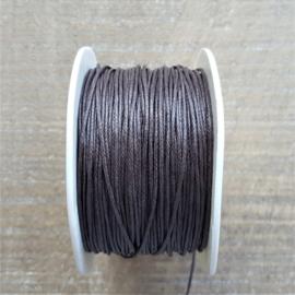 Donkerbruin Waxkoord 1 mm  [2615]