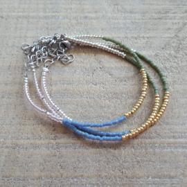 Armbandje Mini Kleurenmix  [1121]