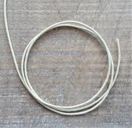 Creme Waxkoord 2 mm  [2606]
