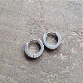 Roestvrijstalen Creolen 11 mm  [8429]