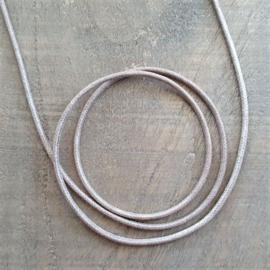 Beigebruin Waxkoord 2 mm  [7011]