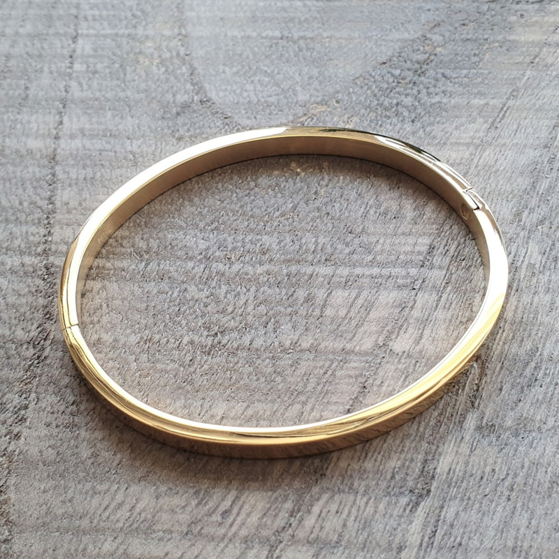 Bangle Goud RVS  [1183]