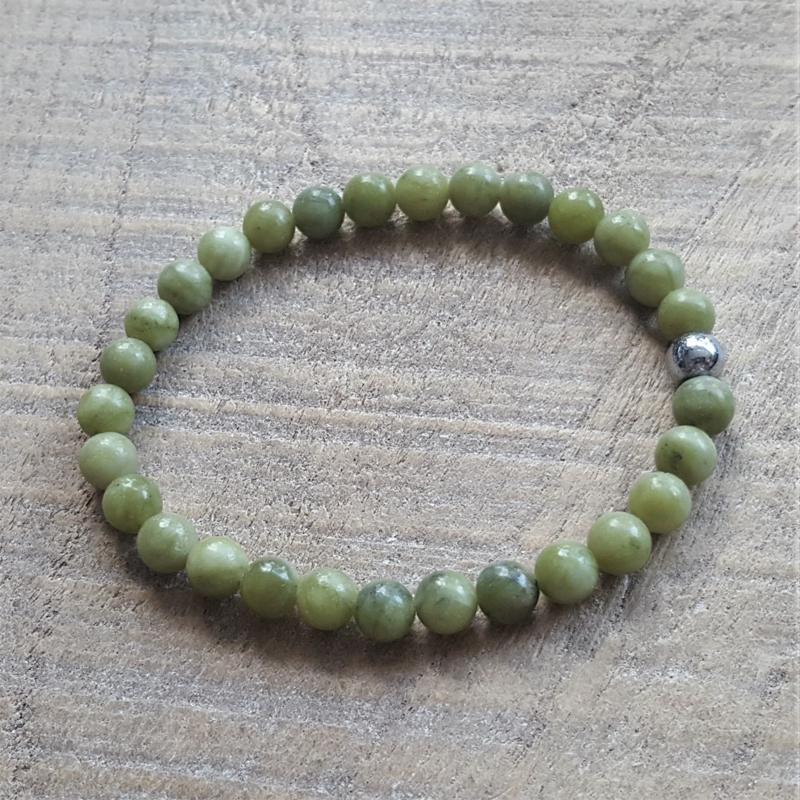 Natuursteen Brazilian Jadeite Groen  [1085]