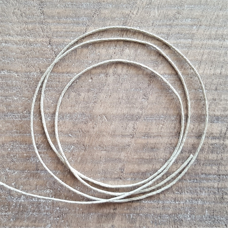 Creme Waxkoord 1 mm  [2621]