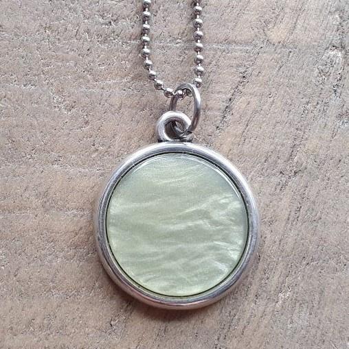 Ketting/Bedel Shiny Green  [7041]