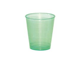 Maatbekertje / medicijnbekertje incl deksel 30 ml groen (25 stuks)