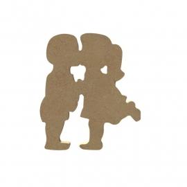 Schattige kinderen (15 cm)