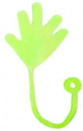 Kleefhandje - Plakhandje - Sticky Hand (groen)