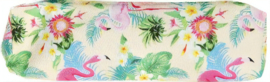 Etui Tropical (beige/groen)