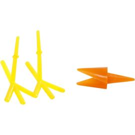 Kippen snavel en voeten (1 set)