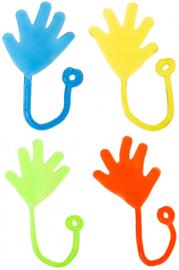 Kleefhandje - Plakhandje - Sticky Hand (diverse kleuren)