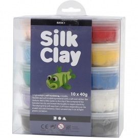 Silk Clay Basis 1 (10 kleuren)