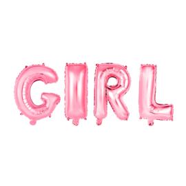 FOLIEBALLON 16″ 'GIRL' ROZE