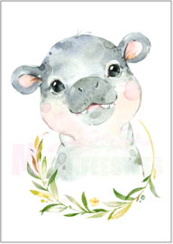Poster Hippo Plant