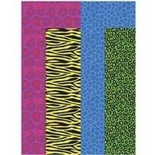 Decoupage papier, vel 25x35 cm, gekleurde dieren print