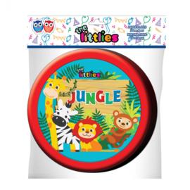 Bordjes The Littlies Jungle 23 cm papier 6 stuks