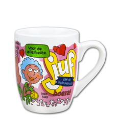 Cartoonmok Juf