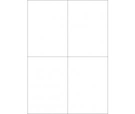 Etiketten 105x148,5mm  A4 (blanco)