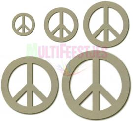 Peace teken 55 cm