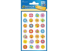 Avery papieretiket Z-design Kids pakje a 2 vel Bloemen