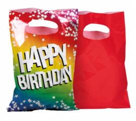 Uitdeelzakjes Happy Birthday