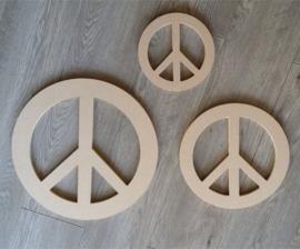 Peace teken 20 cm