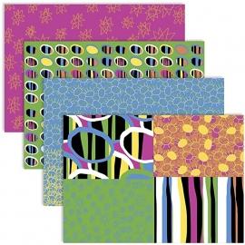 Decoupagepapier, vel 25x35 cm, vrolijke kleuren