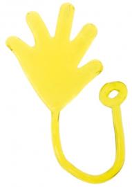Kleefhandje - Plakhandje - Sticky Hand (geel)