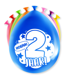 Party ballonnen 2 jaar