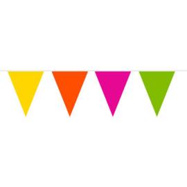 Gekleurde Vlaggenlijn XL - 20 meter